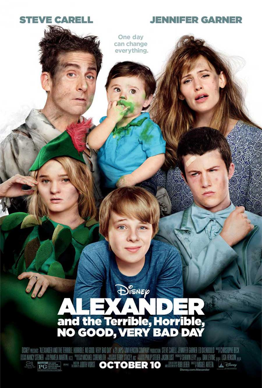 Poster for Alexander and the Terrible, Horrible, No Good, Very Bad Day