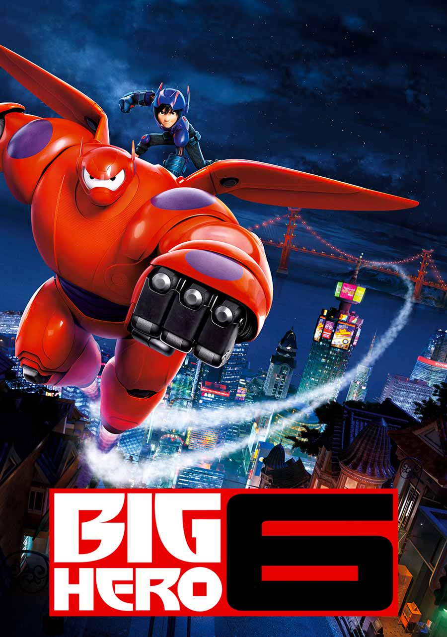Poster for Big Hero 6