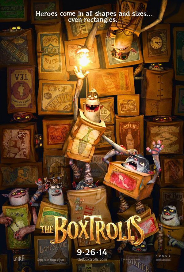 Poster for The Boxtrolls