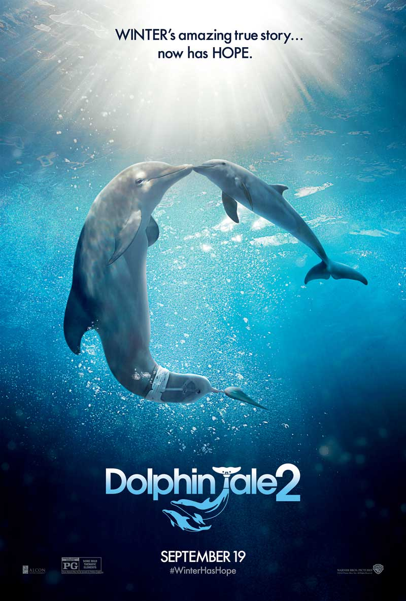 Poster for Dolphin Tale 2