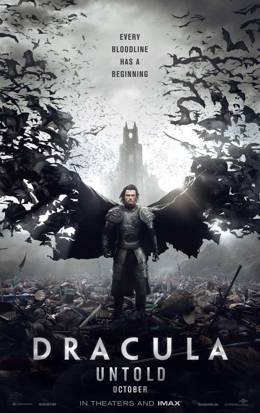 Poster for Dracula Untold