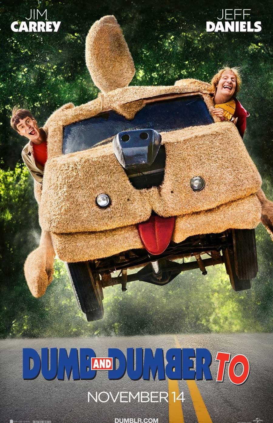 Poster for Dumb and Dumber To