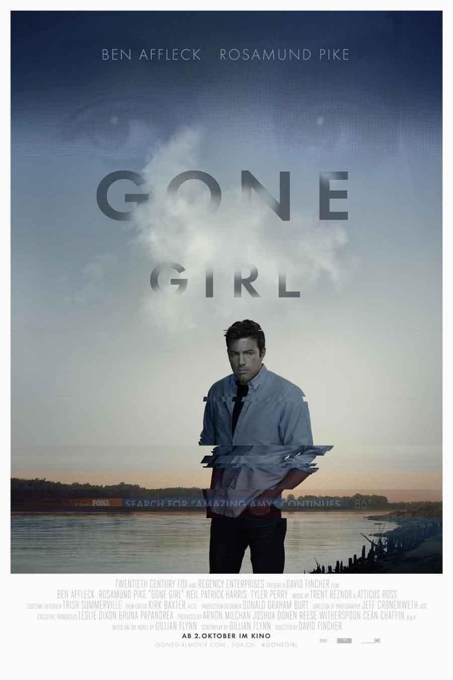 Poster for Gone Girl