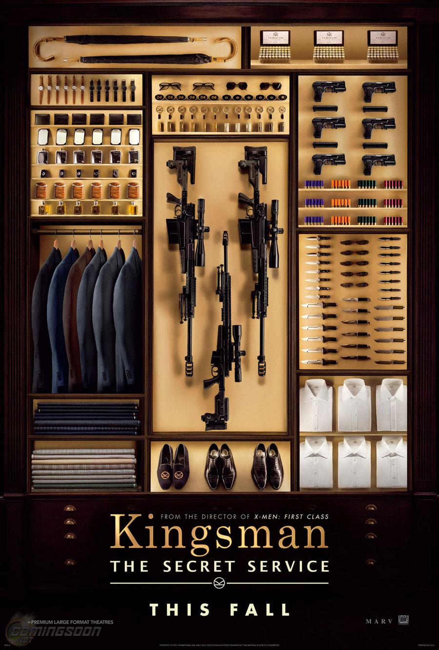 Poster for Kingsman: The Secret Service