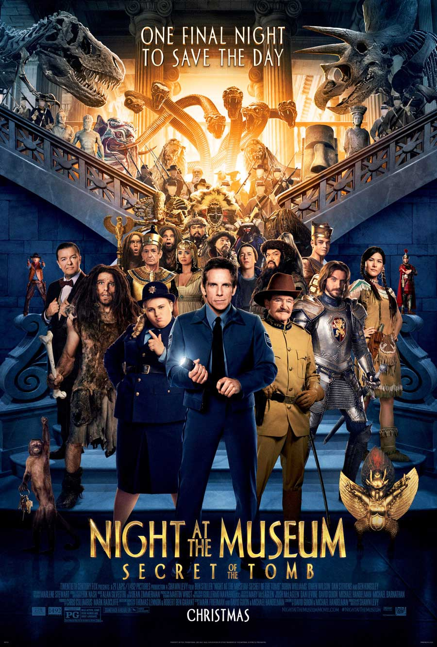 Poster for Night at the Museum: Secret of the Tomb
