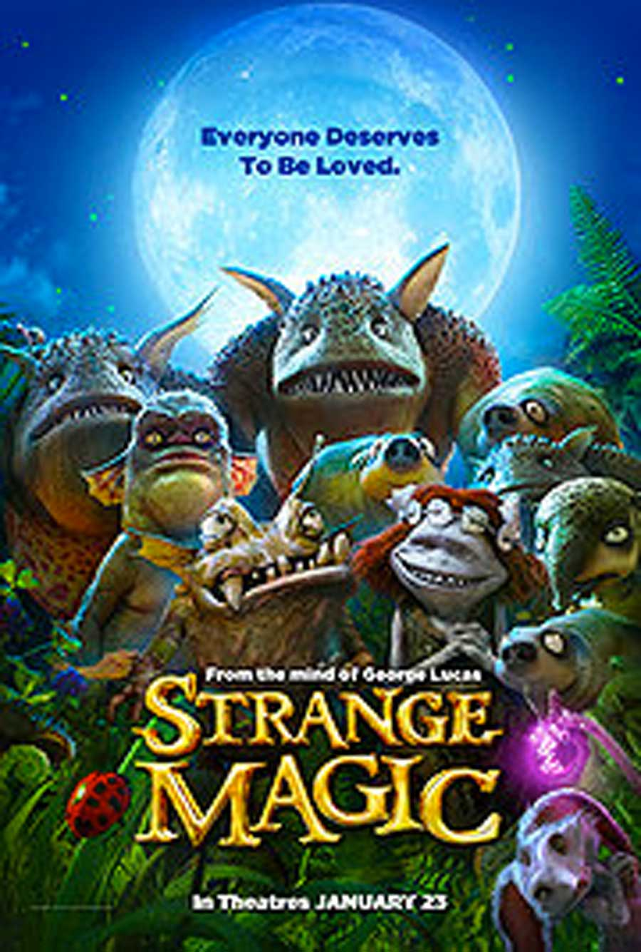 Poster for Strange Magic